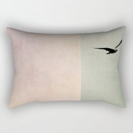 as free as the ocean Rectangular Pillow