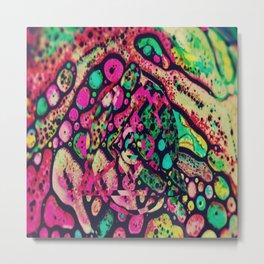 color base Metal Print