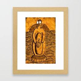Penguinroo Framed Art Print