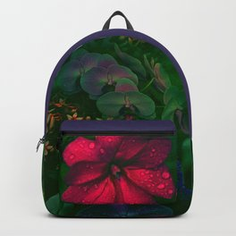 Gathering of Flowers - [Green Version] Backpack
