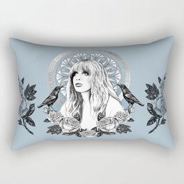 Stevie Nicks Angel Of Dreams Rectangular Pillow