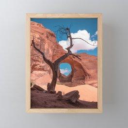 Monument Valley III, Ear of the Wind Framed Mini Art Print