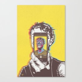 #Conform #Consume #Obey Canvas Print