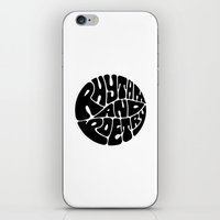 rap iPhone & iPod Skins featuring Rap by guissëpi