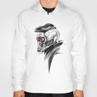 star lord Hoodies featuring Star Lord by Dik Low