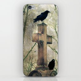 Two Graveyard Crows iPhone Skin
