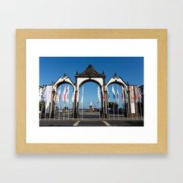Ponta Delgada Framed Art Print