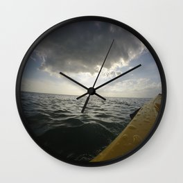 Kayak Adventures 2 Wall Clock