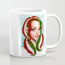 Candy Cane Elf Coffee Mug