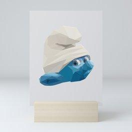 The Smurf Mini Art Print