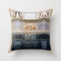roman Throw Pillows featuring roman art by EnglishRose23