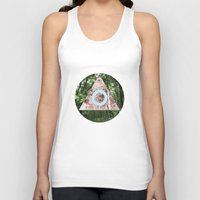 not all those who wander are lost Tank Tops featuring Not all those who wander are lost by Neil Thomas