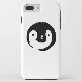Baby Penguin Face iPhone Case