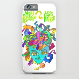 More Perspective = Less Hatred iPhone Case