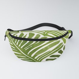 Summer Fern / Simple Modern Watercolor Fanny Pack