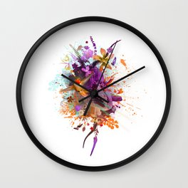 Hummingbird Joy Wall Clock