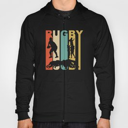 Vintage 1970's Style Rugby Graphic Hoody