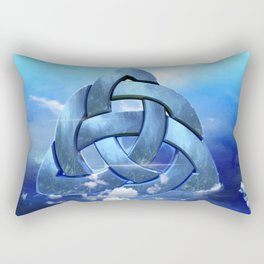 Sacred Geometry - Trinity 09 Rectangular Pillow