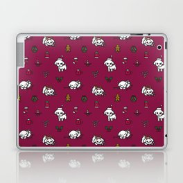 Poodle Christmas Pattern Laptop & iPad Skin