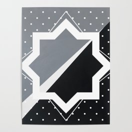 London - star graphic Poster