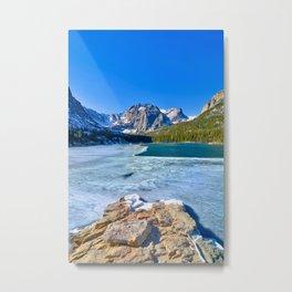 Loch Vale Lake - Colorado Metal Print