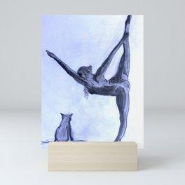 Yoga Sara 1 Mini Art Print