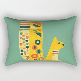 Century Squirrel Rectangular Pillow