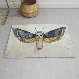Deaths head moth Rug
