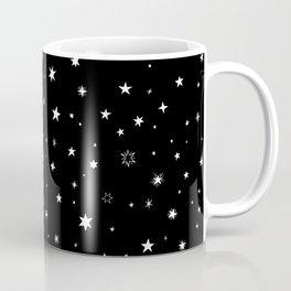 Stars in Night Sky Coffee Mug