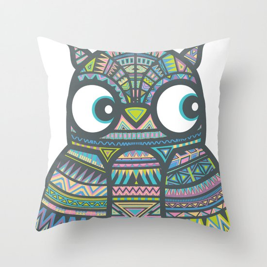 Whoo Me? Throw Pillow