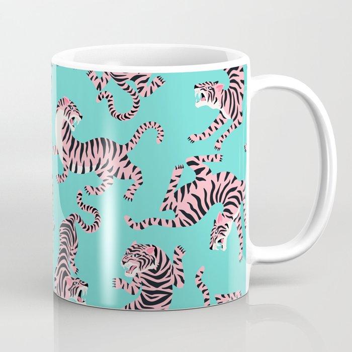 Bright Tigers Coffee Mug