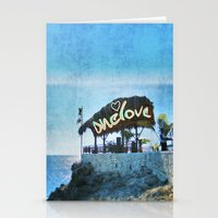 jamaica Stationery Cards featuring One Love… Jamaica by NisseDesigns