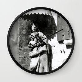 Venice Mother & Child Wall Clock