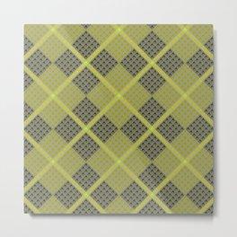 Fammable Pattern Metal Print