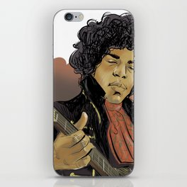 Jimi Hendrix - the legend iPhone Skin
