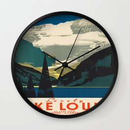 Vintage poster - Canada Wall Clock
