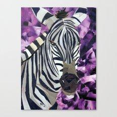 Zebra! Canvas Print