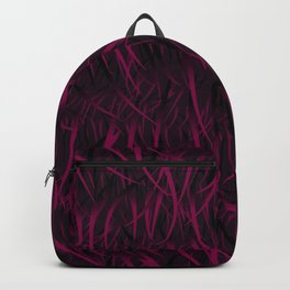 Faux Fur Fun - Surface Design Backpack