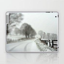 cold fence Laptop & iPad Skin