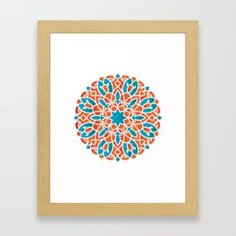 Modern Arabesque Framed Art Print