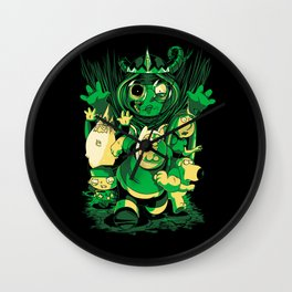 Return of the Lich Queen Wall Clock