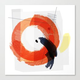 Nucleus Series – 2 of 3 Canvas Print