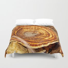 Beautiful Bracket Fungi Duvet Cover