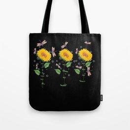 Mississippi Gulfport Sunflower hope love Gifts For Men Women Tote Bag