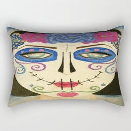 Dia de Los Muertos Rectangular Pillow