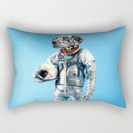 Astronaut-Dalmatian Rectangular Pillow