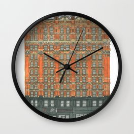 Don't Forget to Look Up: Potter Building Wall Clock