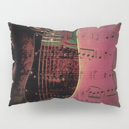 PINK GUITARS Pillow Sham