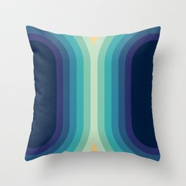 Retro Smooth 001 Throw Pillow