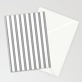 Vertical Lines and Cracked Stationery Cards